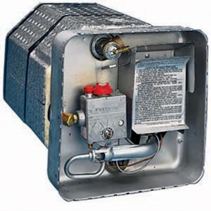 Picture of Suburban Water Heater Door Mounting Bracket SW6 V Model Flush Mt Water Heater Door 520771 09-0106