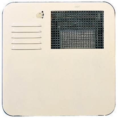 Picture of Suburban  Polar White Radius Corner SW 6 Gallon Water Heater 6261APW 09-0108