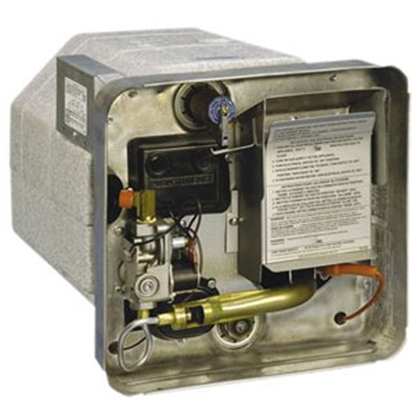 Picture of Suburban  10 Gal SW10DEM 12000 BTU Gas-Electric DSI Water Heater 5097A 09-0153