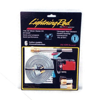 Picture of NW Leisure Lightning Rod 6 Gallon Lightning Rod 110 Volt Water Heater Kit LR-425 09-0193