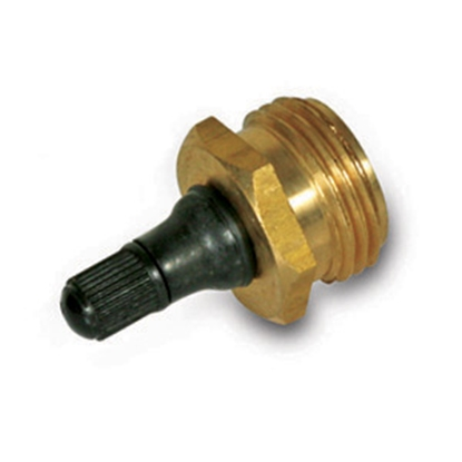 Picture of Camco  Brass Water System Blow Out Plug w/ Schrader Valve 36153 09-0214