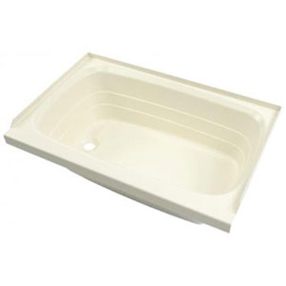"Picture of Better Bath Better Bath Almond 27""x54"" LH Drain ABS Standard Bathtub 208946 10-0020"