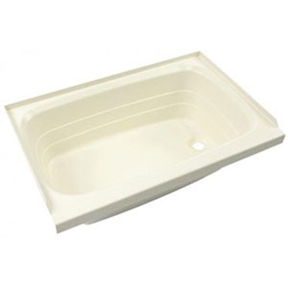 "Picture of Better Bath Better Bath Almond 27""x54"" RH Drain ABS Standard Bathtub 208948 10-0021"