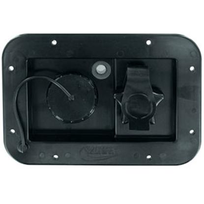 Picture of Valterra  Black Gravity Hatch Fresh Water Inlet A01-2001BK 10-0157