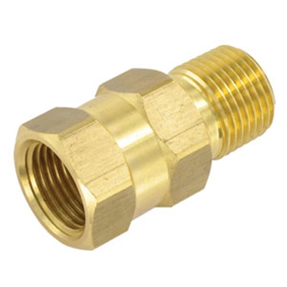 """Picture of Valterra  1/2"""" MPT x 1/2"""" FPT Brass Uni-Directional Fresh Water Check Valve P23402LFVP 10-0167"""