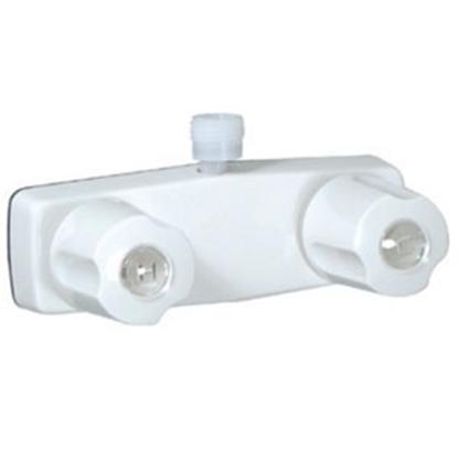 "Picture of Phoenix Faucets  4"" White Plastic Shower Valve w/Knob Handles PF213244 10-0195"