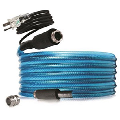 """Picture of Camco TastePURE (TM) Heated 1/2""""x25' Fresh Water Hose 22902 10-0271"""