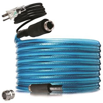 """Picture of Camco TastePURE (TM) Heated 1/2""""x50' Fresh Water Hose 22903 10-0273"""