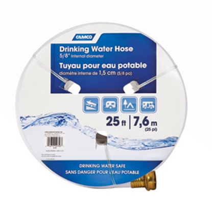 "Picture of Camco TastePURE (TM) 5/8""x25' Fresh Water Hose 22783 10-0280"