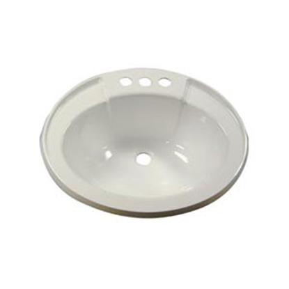 Picture of Lasalle Bristol  Lavatory Bowl, Ivory ABS 16305PP 10-0568