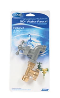 Picture of Camco  Brass T-Connector w/ Faucet Fresh Water Hose Connector For Std GHF Coupling 22463 10-0581