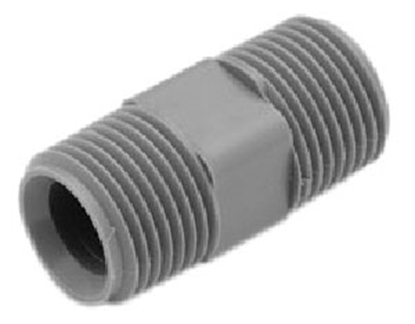 "Picture of Lasalle Bristol QEST 1"" x 3/4"" Male Thread Gray Fresh Water Adapter Fitting 64QC54T 10-0586"