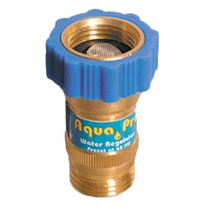 Picture of Aqua Pro  Preset 45 / 150 Max PSI Fresh Water Pressure Regulator 20849 10-0672