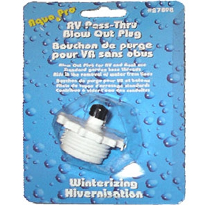 Picture of Aqua Pro  Water System Blow Out Plug 27898 10-0707
