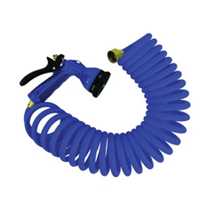 "Picture of Aqua Pro  LF 1/2"" x 25' Exterior Spray Port Quick Connect Hose 20092 10-0940"