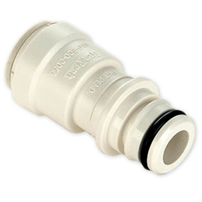 "Picture of Sea Tech 35 Series 1/2"" Female QC Copper Tube Off-White Polysulfone Fresh Water Straight Union Pump Fitting 013575-10 10-1079"