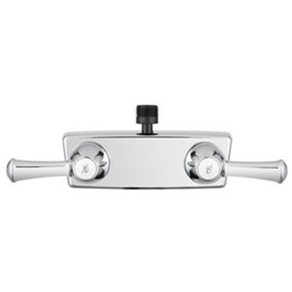"Picture of Dura Faucet  4"" Chrome Plated Plastic Shower Valve w/ Lever Handle DF-SA100L-CP 10-1204"