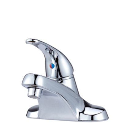 "Picture of Dura Faucet  Chrome w/Single Lever 4"" Lavatory Faucet DF-NML110-CP 10-1314"