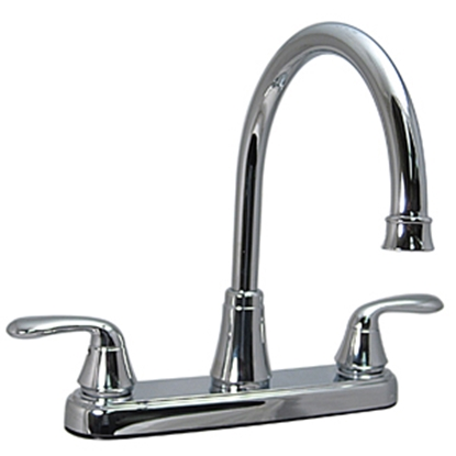 "Picture of Phoenix Faucets  Chrome w/Levers 8"" Kitchen Faucet w/Hi-Arc Spout PF231302 10-1334"