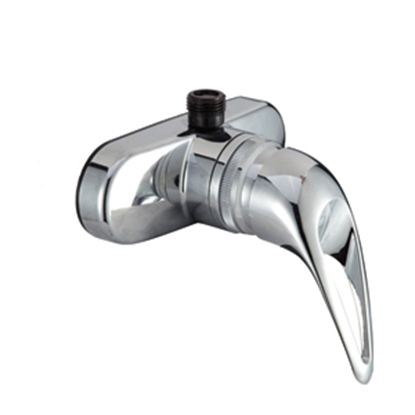 "Picture of Dura Faucet  4"" Chrome Plated Plastic Shower Valve w/Lever Handle DF-SA150-CP 10-1350"