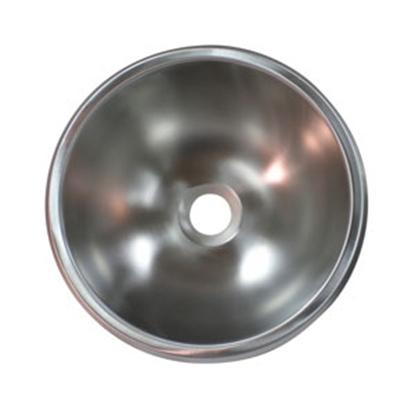 """Picture of Lasalle Bristol  9"""" Round Stainless Steel Sink 13M111 10-1352"""