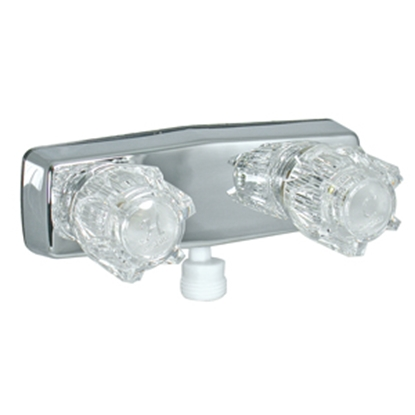 "Picture of Phoenix Faucets  4"" Polished Chrome Plated Plastic Shower Valve w/Clear Knobs PF213350 10-1379"