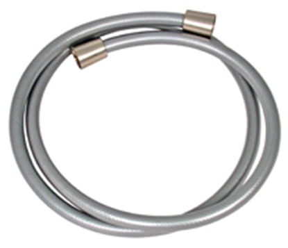 """Picture of Phoenix Faucets  Brushed Nickel 60"""" Vinyl Hose PF276033 10-1544"""