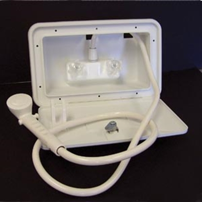 Picture of Lasalle Bristol  Polar White Exterior Shower 742007 10-1578