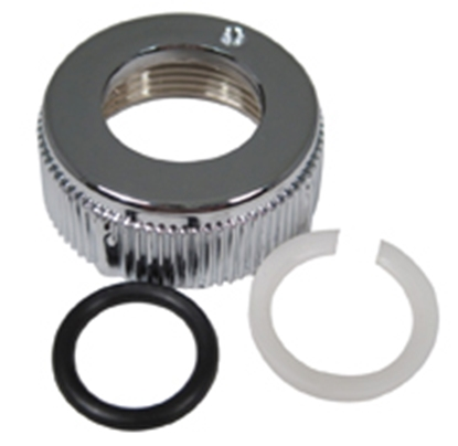 Picture of Phoenix Faucets  Chrome Bell Style Faucet Spout Nut PF281028 10-1586