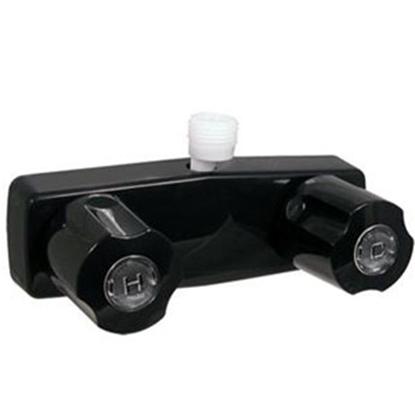 "Picture of Phoenix Faucets  4"" Black Plastic Shower Valve w/Black Knobs PF213741 10-1674"