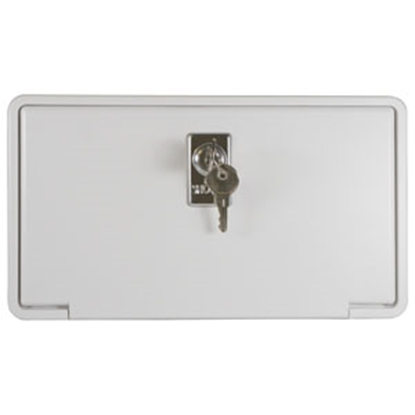 Picture of ITC  Arctic White Exterior Shower Box Door 97023-A-D 10-1675