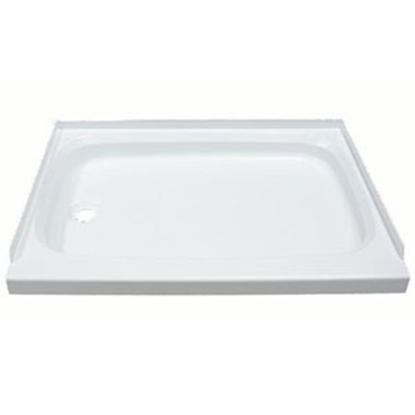 "Picture of Better Bath Better Bath Parchment 24""x40"" Rectangular Shower Pan 209498 10-1771"