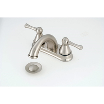 "Picture of American Brass  Chrome w/Levers 4"" Lavatory Faucet w/Hi-Arc Spout NN88N 10-2332"