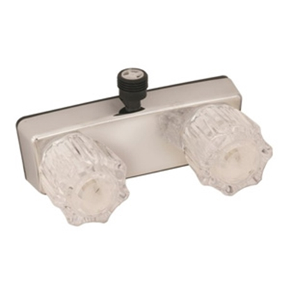 "Picture of Empire Brass  4"" Chrome Plated Plastic Shower Valve w/Clear Knobs U-YJW53VB 10-2345"