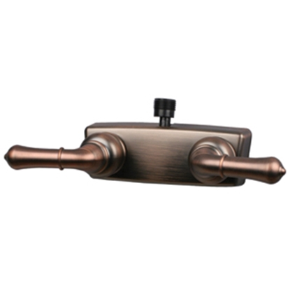 "Picture of Empire Brass  4"" Bronze Coated Plastic Shower Valve w/Teapot Handles X-YOB53VBOB 10-2354"