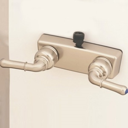 "Picture of Empire Brass  4"" Nickel Plated Plastic Shower Valve w/Teapot Handles X-YNN53VBN 10-2382"