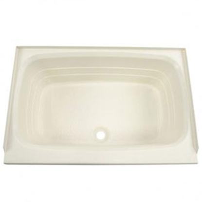 "Picture of Better Bath Better Bath Parchment 24""x36"" Center Drain ABS Standard Bathtub 209369 10-5729"