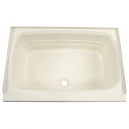 "Picture of Better Bath Better Bath Parchment 24""x40"" Center Drain ABS Standard Bathtub 209385 10-5733"
