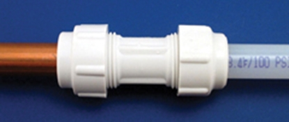 """Picture of Flair-It Flair-It (TM) 1/2""""CU x 1/2""""CU Transition Fitting 06343 10-8013"""