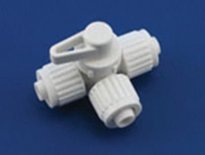 "Picture of Flair-It Flair-It (TM) Plastic 1/2"" PEX 3-Way Fresh Water Tank Drain Valve 06914 10-8050"