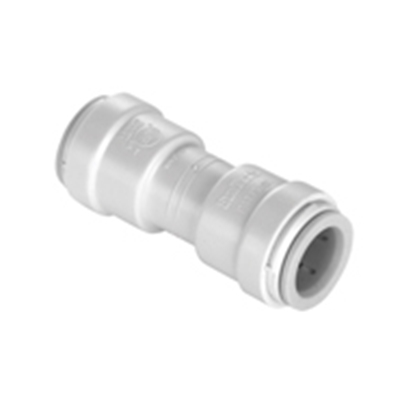 "Picture of Sea Tech 35 Series 3/8"" Female QC Copper Tube Off-White Polysulfone Fresh Water Union Connector 013515-08 10-8162"