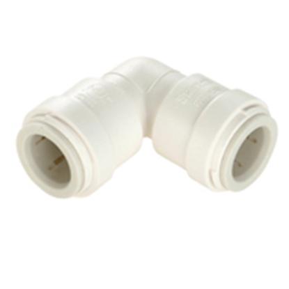 """Picture of Sea Tech 35 Series 1/2"""" Female QC Copper Tube Off-White Polysulfone Fresh Water 90 Deg Union Elbow 013517-10 10-8170"""