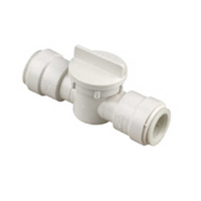 "Picture of Sea Tech 35 Series 1/2"" Female QC CTS Polysulfone Straight Stop Valve 013539-10 10-8174"