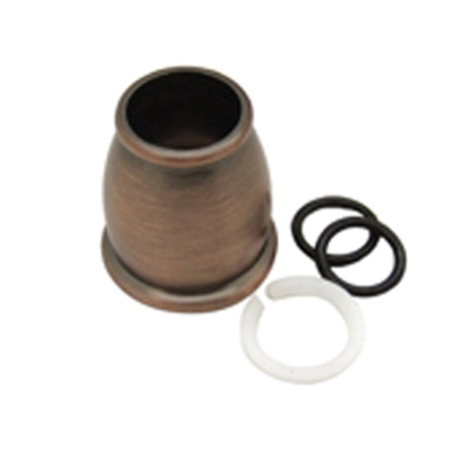 Picture of Dura Faucet  Bronze Bell Style Faucet Spout Nut For Dura DF-PK210 Hi-Rise or DF-PK330 J-Spout DF-RK500-ORB 10-9016