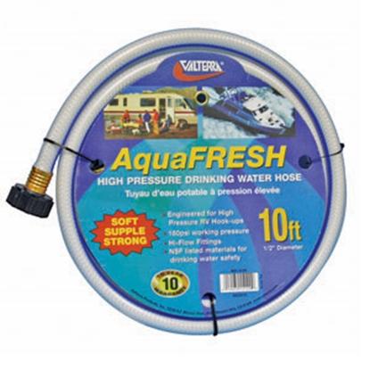 "Picture of Valterra Aqua Fresh White 1/2""x10' Fresh Water Hose w/Gripper W01-5120 11-0039"