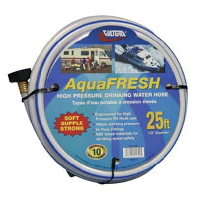 "Picture of Valterra Aqua Fresh White 1/2""x25' Fresh Water Hose w/Gripper W01-5300 11-0041"