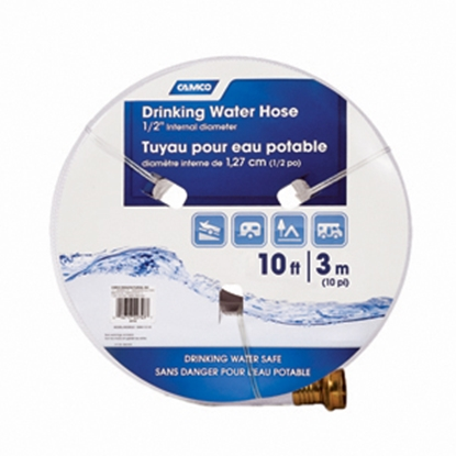 "Picture of Camco TastePURE (TM) 1/2""x10' Fresh Water Hose 22743 11-0043"