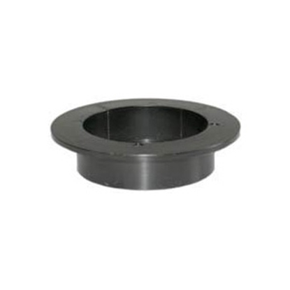 """Picture of Icon  Black ABS Plastic 2"""" Flush Slip Holding Tank Fitting 00422 11-0059"""
