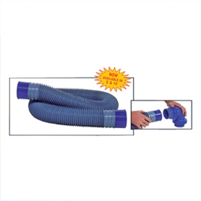 Picture of Prest-o-Fit Blue Line (R) Ultimate Blue 5' Vinyl Sewer Hose 1-0062 11-0167