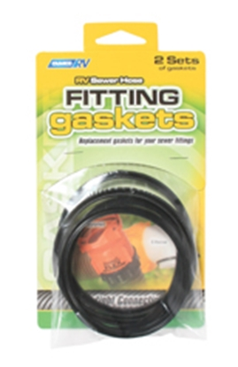 Picture of Camco  Sewer Fitting Gaskets, 2-Pack 39834 11-0182